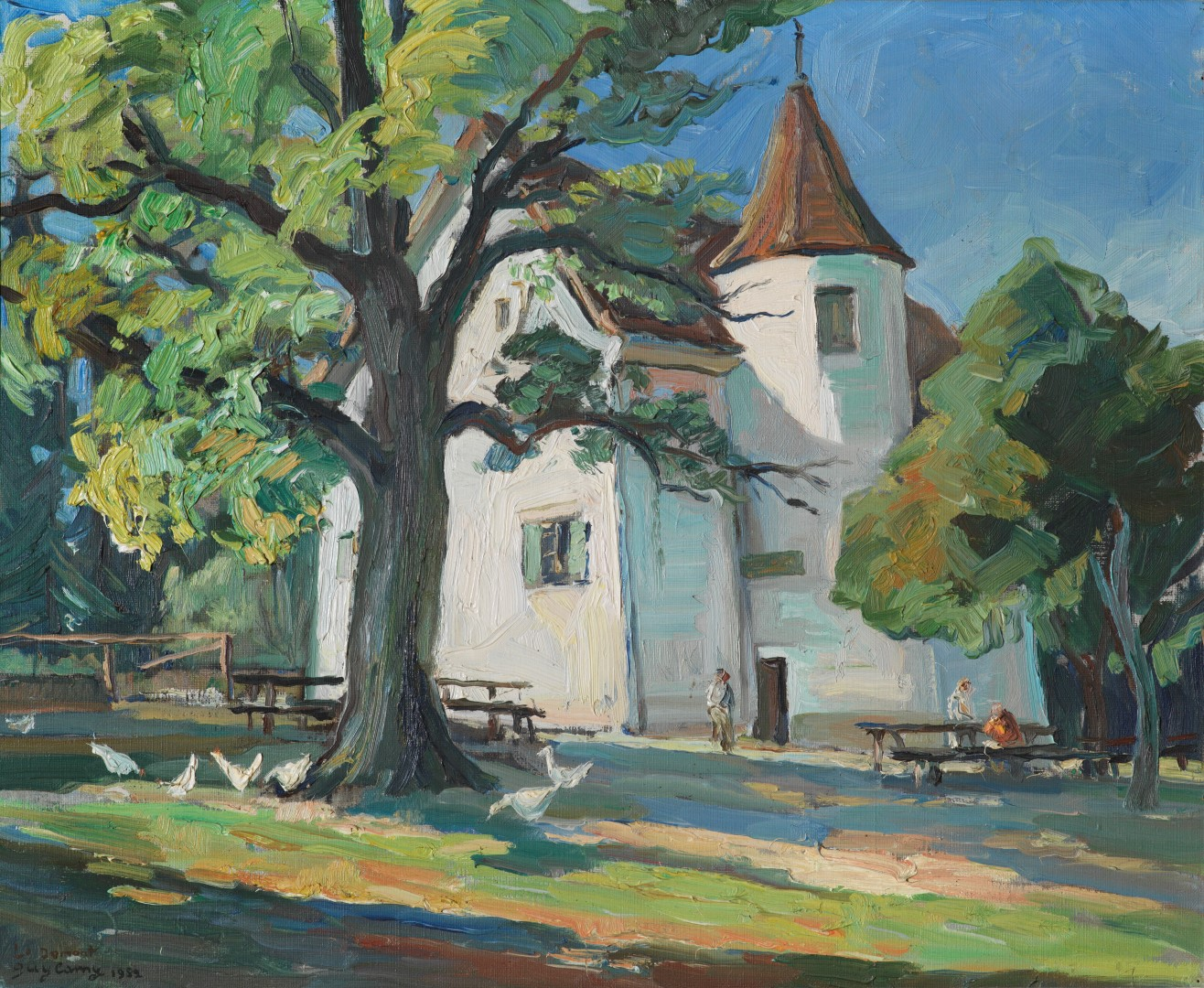 Swissart consulting le jura vu par guy lamy 1914 2000 for Domont porrentruy